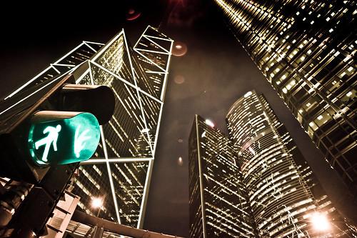 無料写真素材, 建築物・町並み, 都市, ビルディング, 風景  中華人民共和国, 中華人民共和国  香港, 夜景