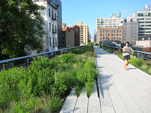 The Highline in New York City