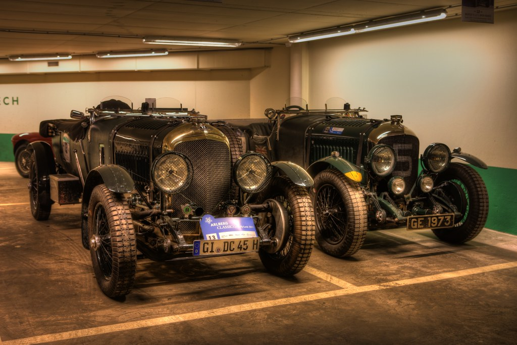 The Bentley Boys' Toys
