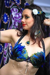 Alaska - Belly Dancers and Gypsy Underground at the 2011 Forest Fair in Girdwood