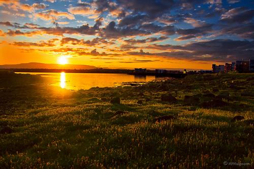 sunrise iceland daybreak julymorning sólarupprás dagrenning hphson sonyslta55 sólris júlímorgunn