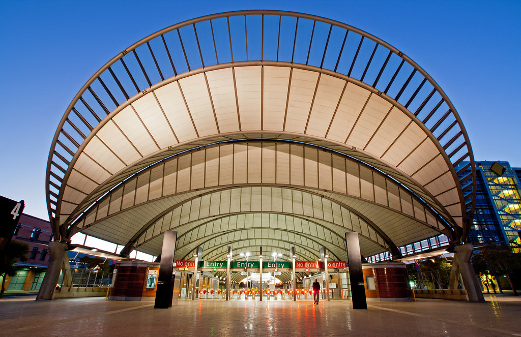 Railway Station, Sydney Olympic Park