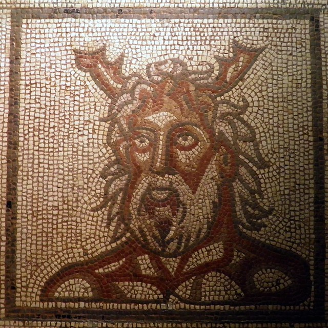 Mosaic, Verulamium Museum, St Albans