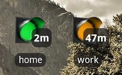 android traffic app widget