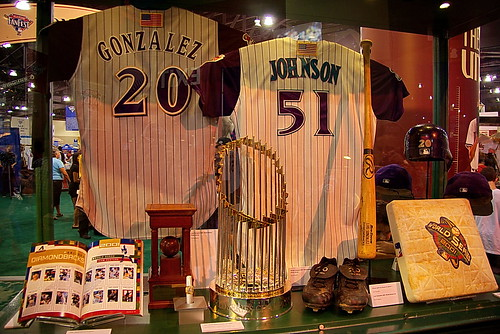 MLB 2011 All-Star Game – FanFest – Arizona Diamondbacks 2001 World Champions Display