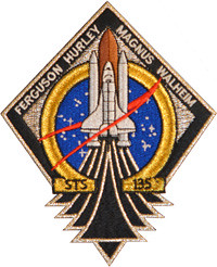 Space Shuttle Atlantis STS-135 Launch Patch #NASATweetup