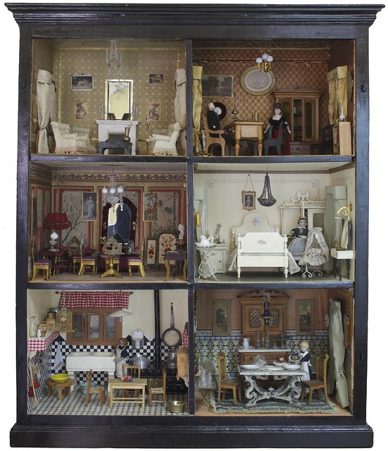 Casa de mu ecas de la colecci n del museo del romanticismo for La casa de las munecas madrid