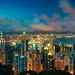 多彩的维多利亚港之夜 / The Colourful Lights of Victoria Harbor by blackstation