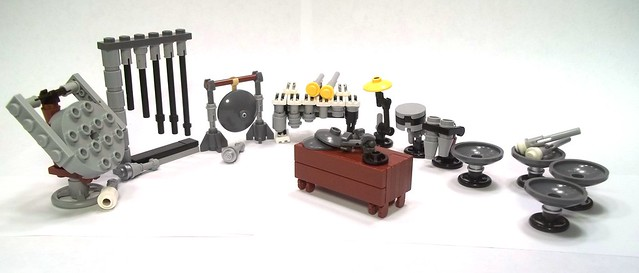 Lego Musical Instruments 1 A Gallery On Flickr