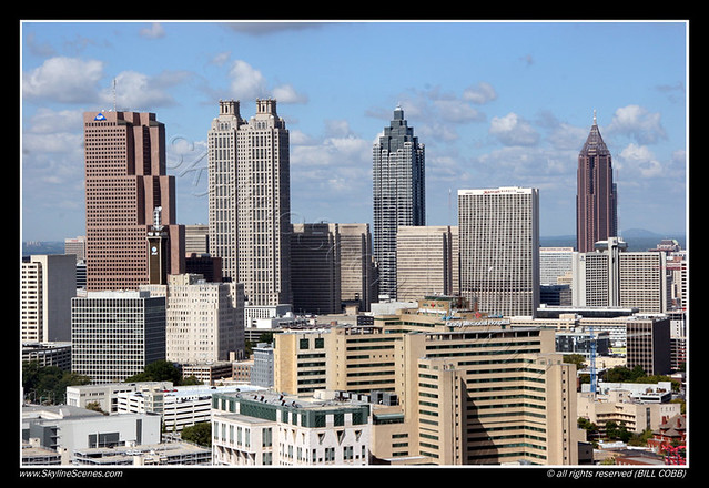 Atlanta downtown strip