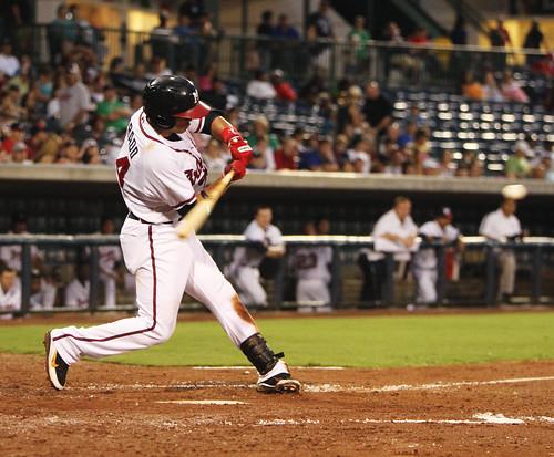 baseball minor braves league rehab martinprado mississippibraves pearlmississippi trustmarkpark aamisssissippi pouyad