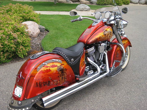 2003 Indian chief motorcycle