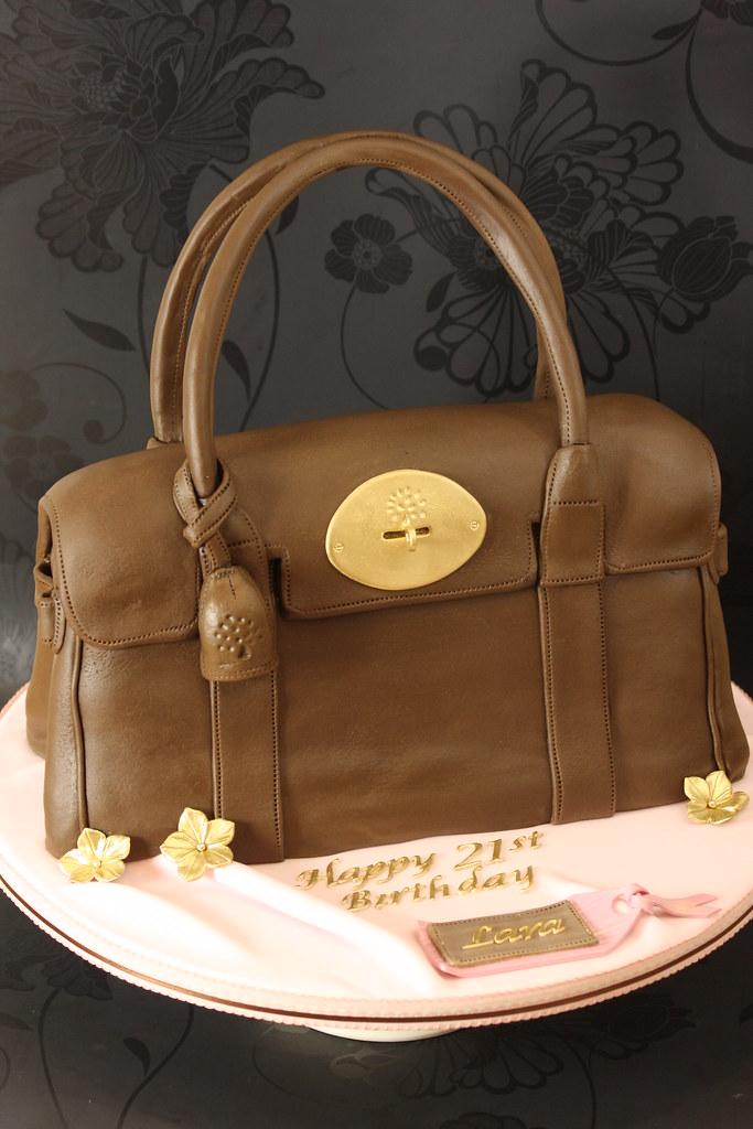 Mulberry Bayswater Bag Cake  7ef0ca41c1833