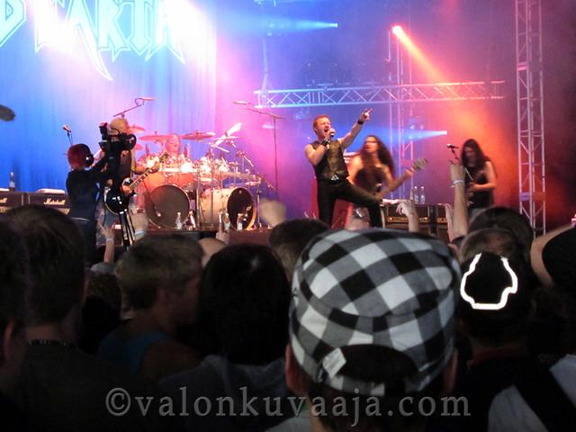 Ilosaarirock 2011 - Iced Earth
