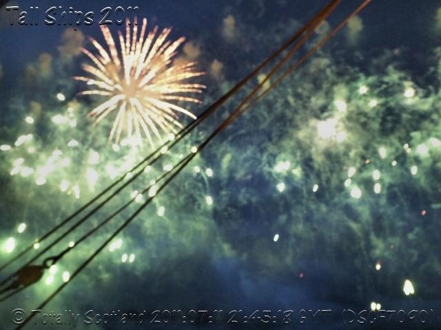 Greenock fireworks 10/11