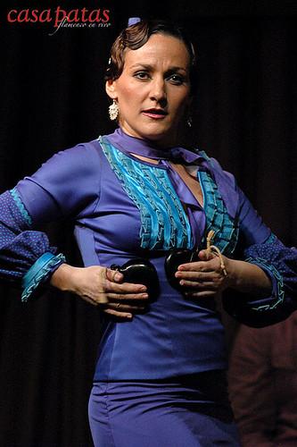 Concha Jareño bailando en Casa Patas. Foto: Martín Guerrero