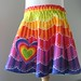 Rainbow Twirl Skirt by sammyk
