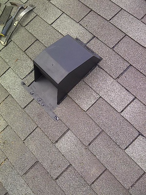 Kitchen Exhaust Vent Install Mr Roof Repair Flickr Photo Sharing