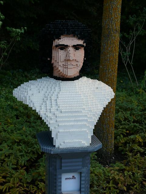 LEGO-Büste: Gerd Müller