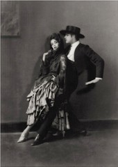 Martha Graham and Ted Shawn, 1922, by E. O. Hoppe