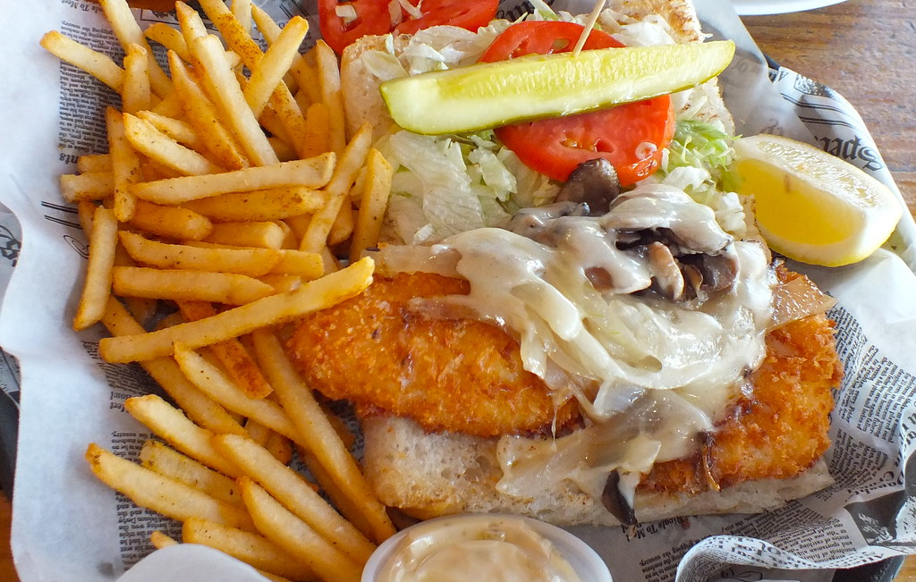 Hogfish bar grill stock island fl man v food nation for Island fish grill