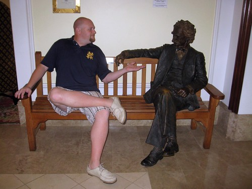 chatting with mark twain in bermuda