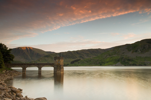 longexposure sunset lakedistrict peaceful tranquility calm haweswater