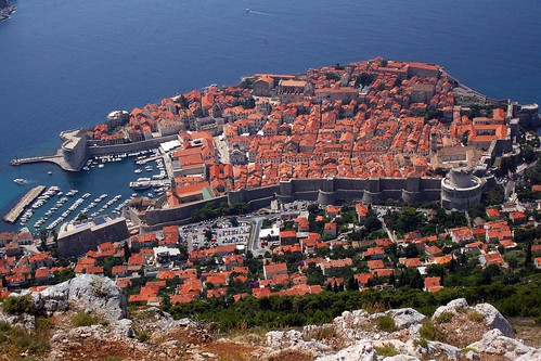 A view over Dubrovnik.