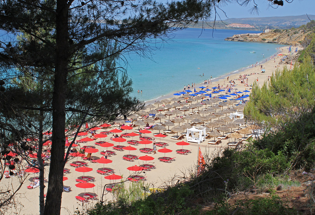 кефалония пляж