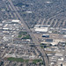 Aerial view of Nimitz Freeway (I-880) in Oakland