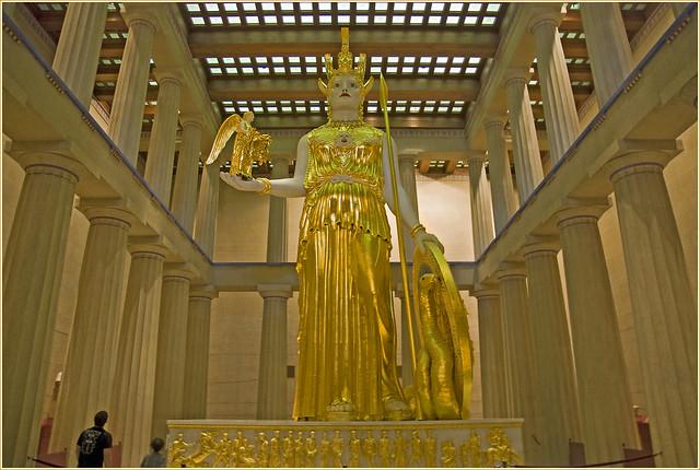 Athena -- The Parthenon Nashville (TN) July 2011
