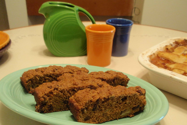 Moist and not overly sweet, Molasses Banana Bread is practically fat free, ...