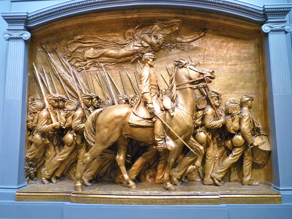 Robert Gould Shaw Memorial National Gallery Of Art A