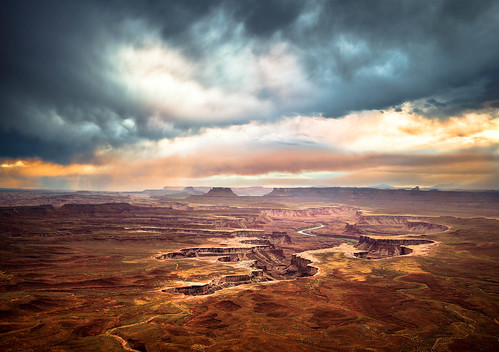 Welcome to the end of the world - Green River, Canyonlands Utah