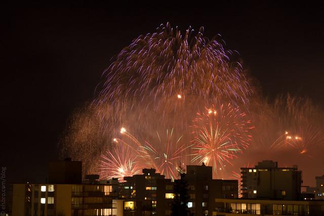 Celebration of Light – Wednesday Night