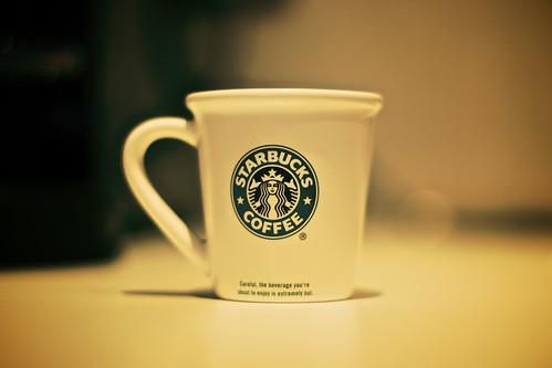 Starbucks mini-mug. by Amenic 