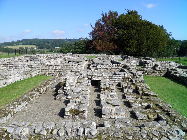 The Commandant's House (Praetorium), Chesters Roman Fort