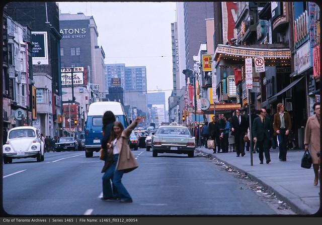 Yonge Street looking north