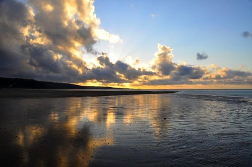 sunset summer seascape france landscape manche badweather cloudscapes cotentin urville nacqueville urvillenacqueville