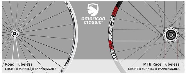 American Classic Laufräder mit Top Referenzen und Testergebnissen