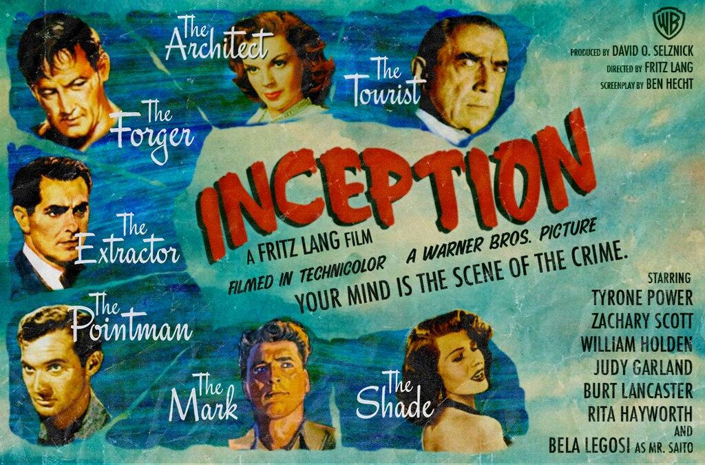 Alternate Universe - INCEPTION, by Peter Stults