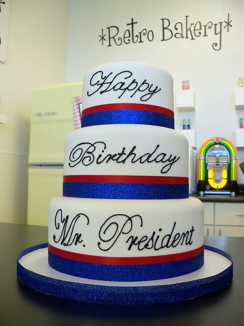 Donald Trump Celebration Cake