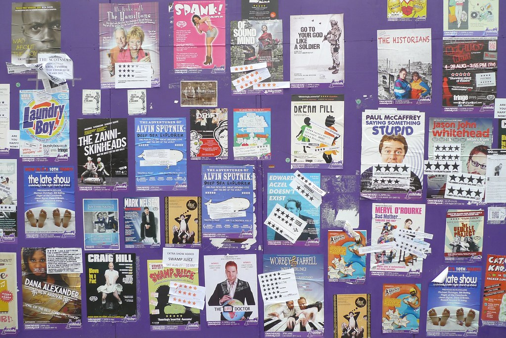 Flyers at the Fringe