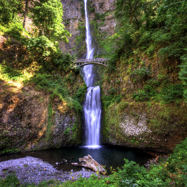 World Famous Multnomah Falls
