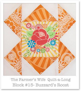 Farmer's Wife Quilt-a-Long - Block 15