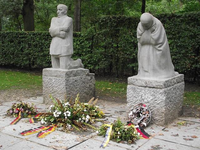 The Grieving Parents by Käthe Kollwitz, Vladslo German War Cemetery, Vladslo, Belguim.