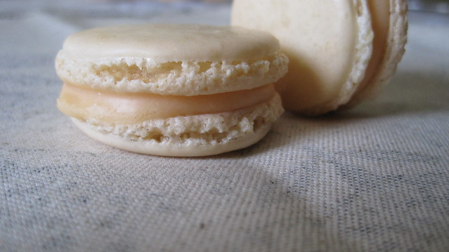 Grapefruit-Campari Macarons