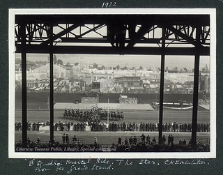 B-Squadron Musical Ride. The Star, Canadian National Exhibition, From the Grandstand