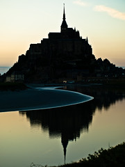 Lovely Mont-Saint-Michel by Peddan Foto