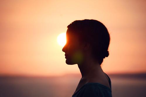 ocean sunset portrait sky people sun amanda silhouette sister flare leonti